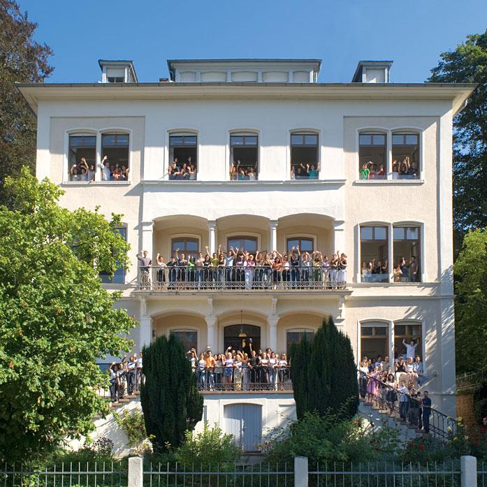 internationales studienzentrum university of heidelberg photos and videos. Black Bedroom Furniture Sets. Home Design Ideas